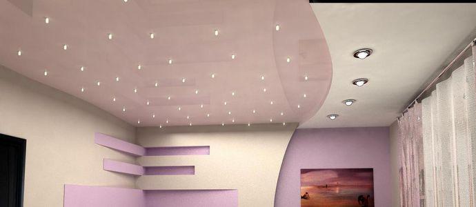 Профессиональный монтаж и ремонт потолков