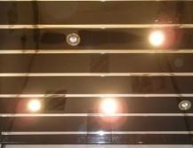 Реечный потолок для ванной комнаты