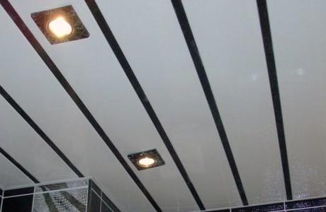 Красиво сделанный потолок