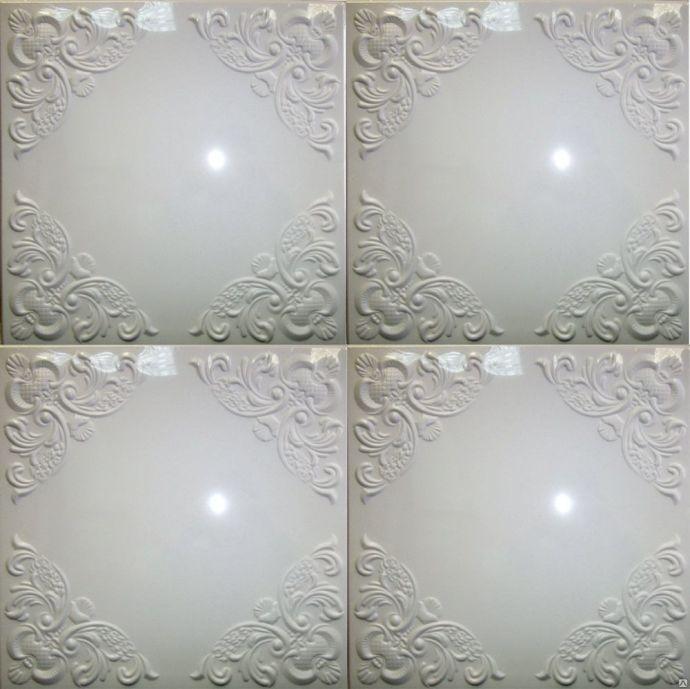 Плитка потолочная