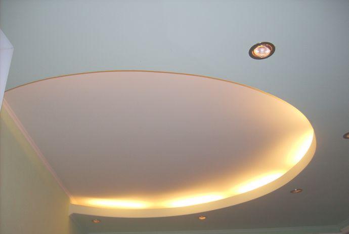Подвесной двухуровневый потолок