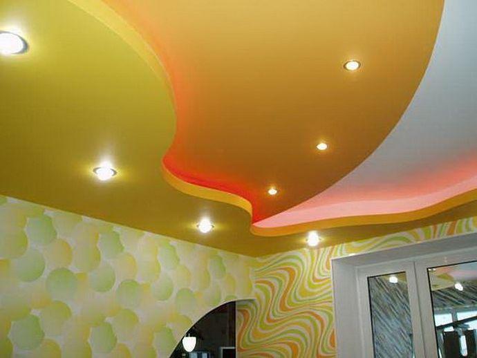 Интересный эскиз потолка