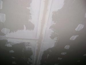 Места соединений листов гиспсокартона