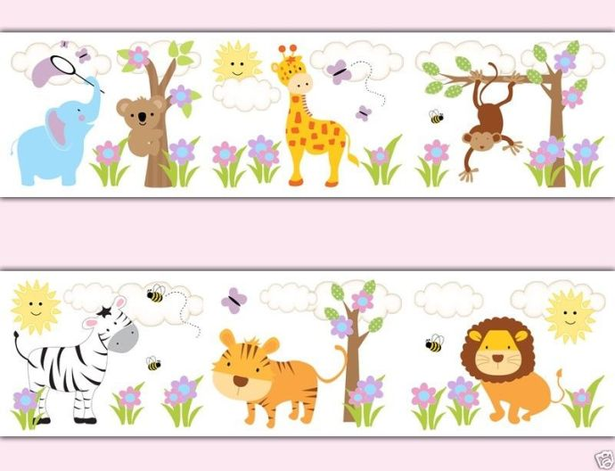 Nursery sayings wall decals