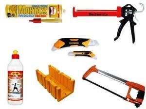 Минимальный набор инструментов для работы