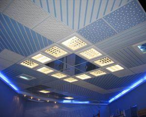 Подвесной потолок Армстронг с подсветкой