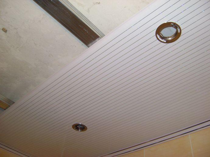 Пластиковые потолочные панели