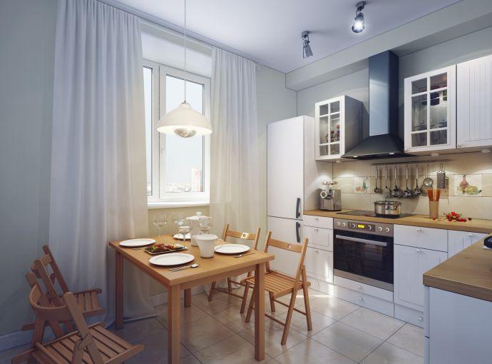 Потолочные софиты на кухне