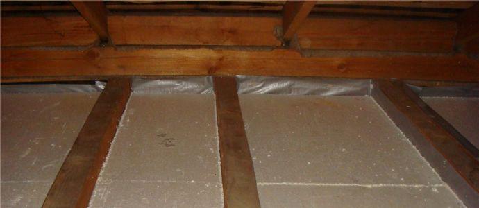 Утепление деревянного потолка своими руками 691