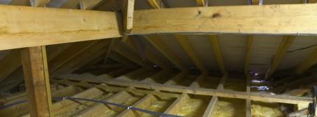 Теплоизоляция потолка в частном доме