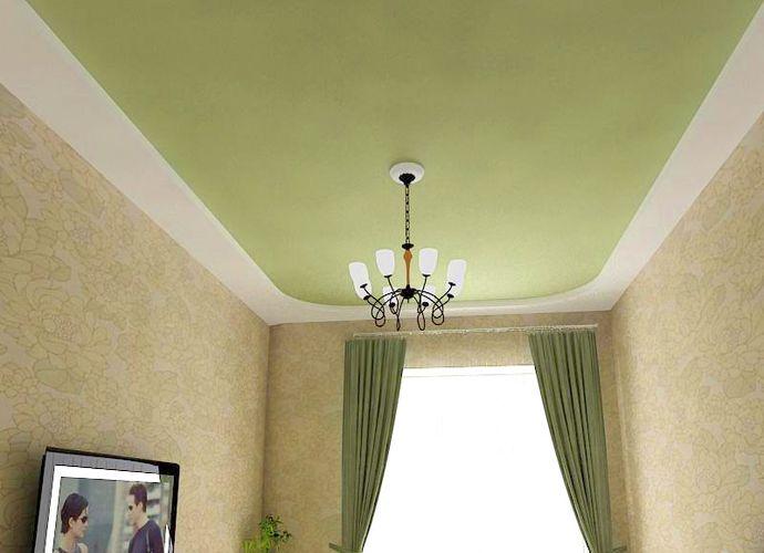 Натяжной бесшовный тканевый потолок