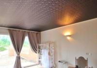 Тканевый бесшовный натяжной потолок