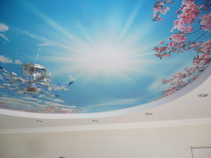 Натяжной потолок Дескор