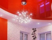 Пример дизайна натяжного потолка