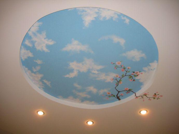 Небо на фотообоях