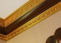 Галтель потолочная