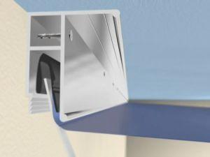 Профиль крепления натяжного потолка