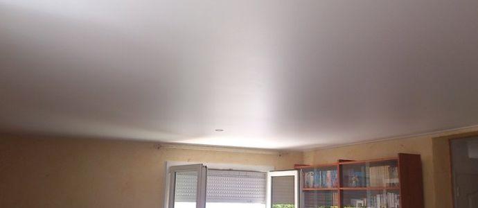 Натяжной сатиновый потолок