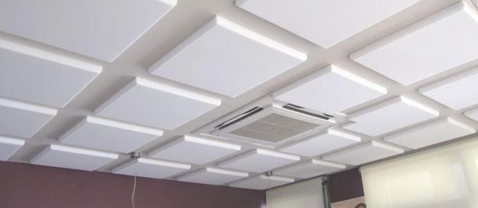 Потолочные пенопластовые панели