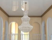 Плинтус потолочный для натяжных потолков