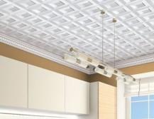 Плитка на потолке из пенопласта