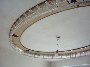 Каркас многоуровневого потолка