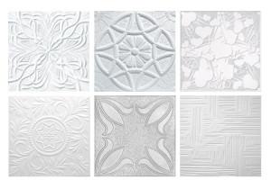 Виды потолочных плит