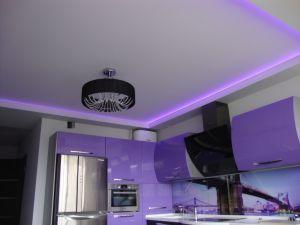 Многуровневый потолок с подсветкой
