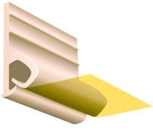 Багет для тканевых натяжных потолков
